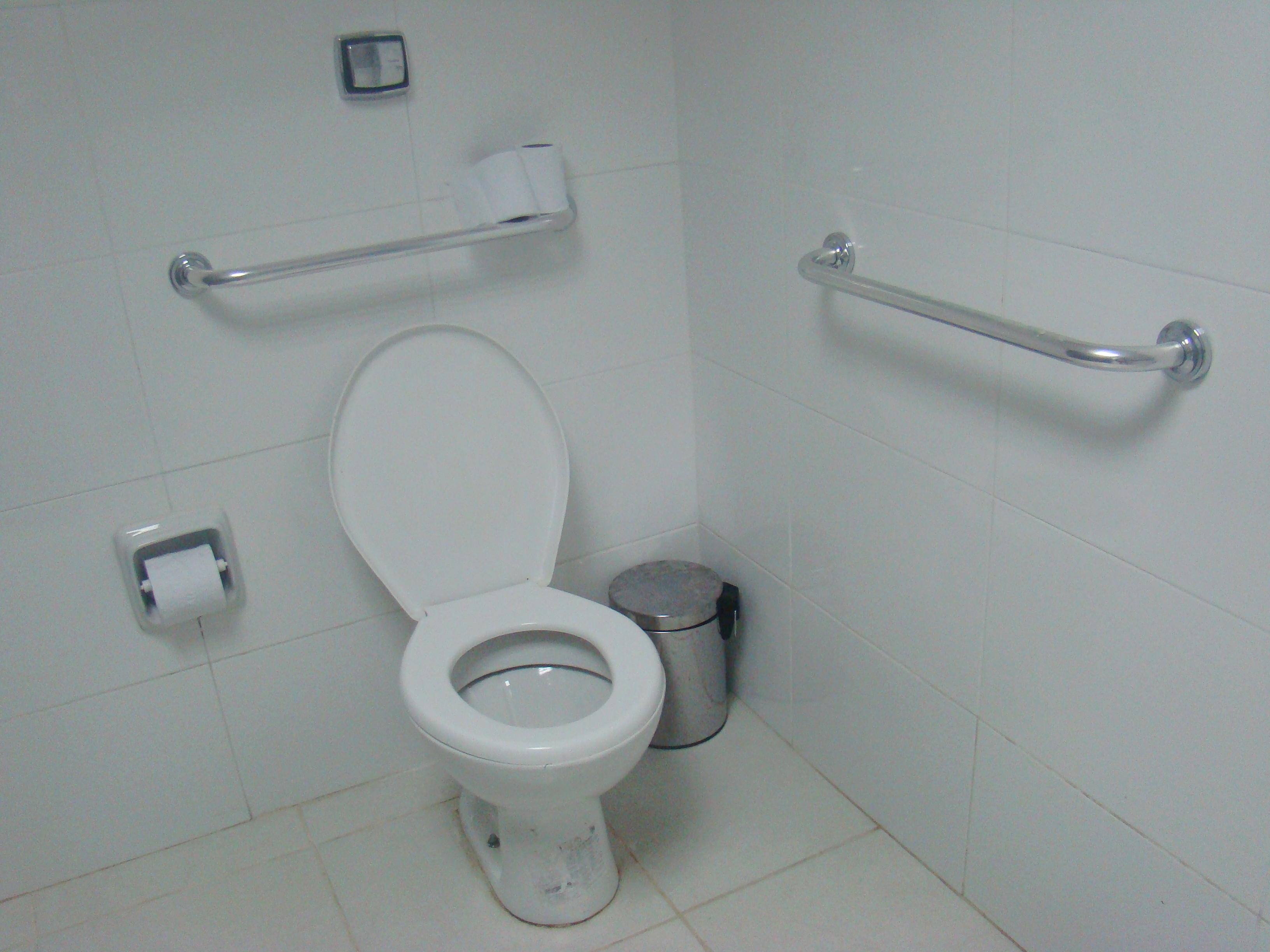 UFF Notícias Superintendência de Comunicação Social (SCS) #46505B 3264x2448 Acessibilidade Idosos Banheiro